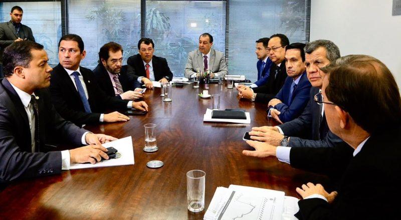 Bancada mantém Omar Aziz no comando e defesa da ZFM é prioridade