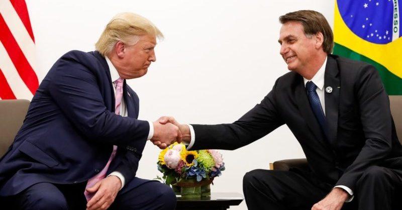 Trump diz que entrada de brasileiros nos EUA está sendo monitorada