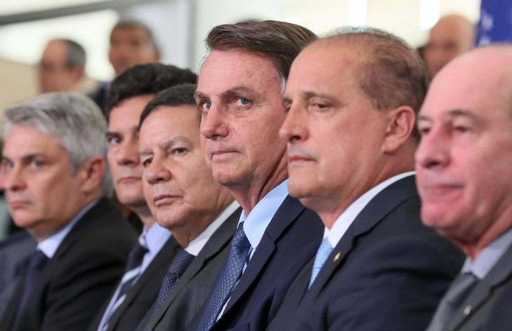 Silêncio Declarações Moro Coronavírus Concentrados emendas