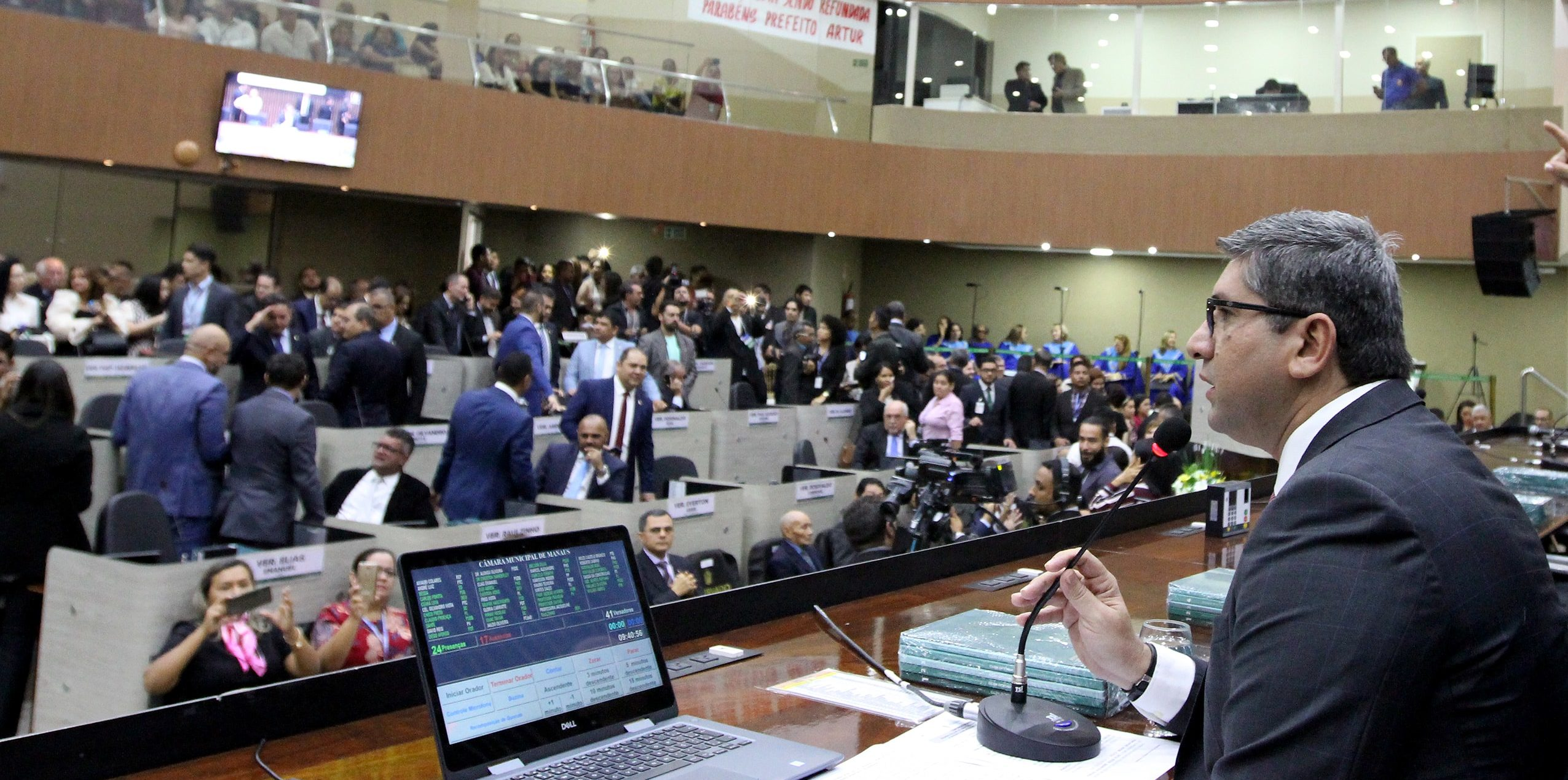 Câmara de Vereadores transmitirá sessões em rede nacional