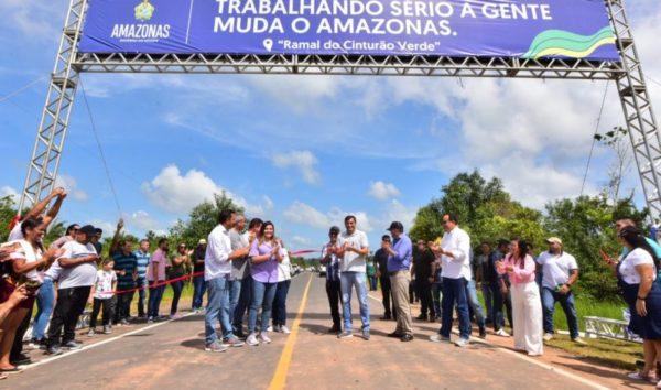 Wilson revitaliza ramal estratégico a produtores do Careiro Castanho