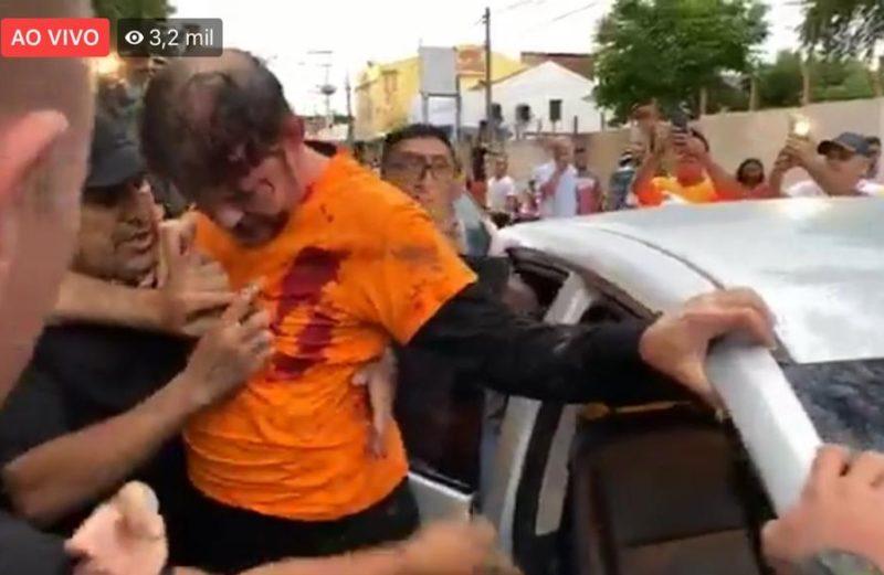 Irmão de Ciro, Cid Gomes é baleado em protesto de PM no Ceará