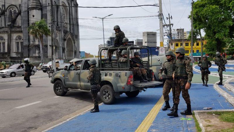 Governo prorrogapresença das Forças Armadas no Ceará