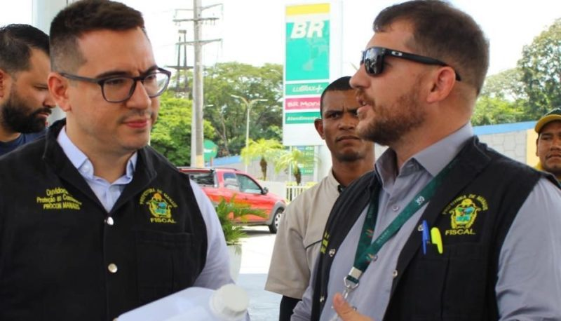 Operação do Procon Manaus multa 24 postos de gasolina