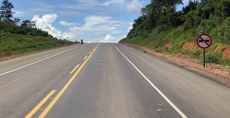 Bolsonaro inaugura pavimentação da BR-163 na Amazônia