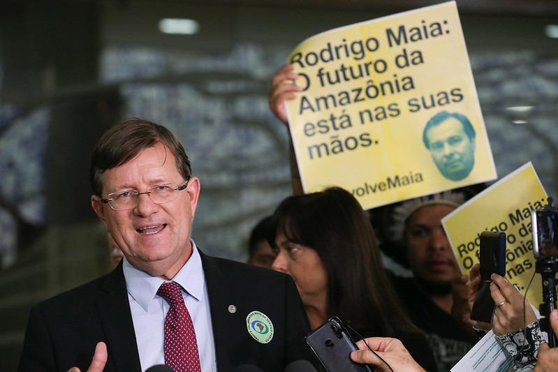 Deputado quer travar decreto de Bolsonaro sobre Conselho da Amazônia