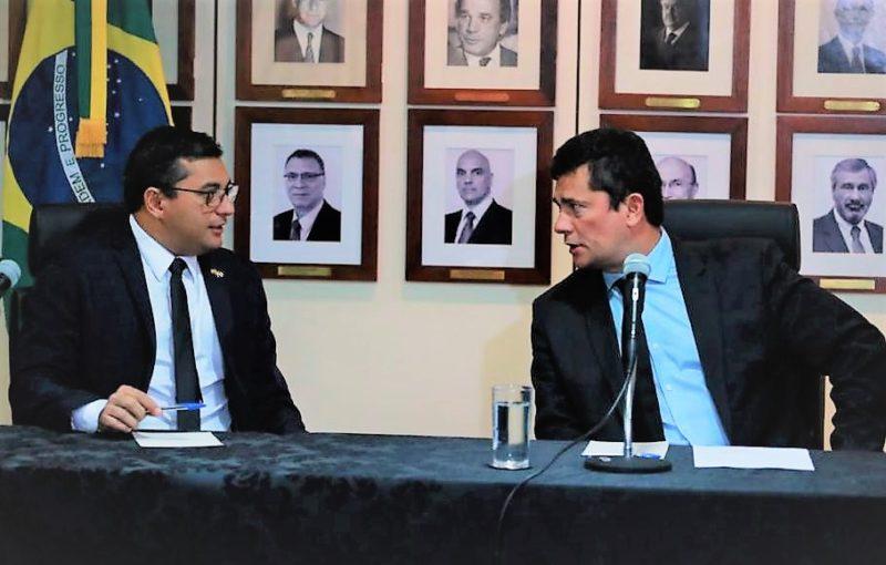 Moro reforça ações de Wilson contra crime organizado no Amazonas
