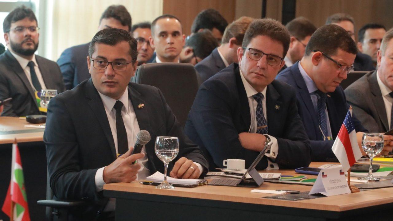 Wilson Lima defende redução do ICMS dos combustíveis, em Brasília