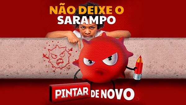 Manaus terá mobilização contra o sarampo neste sábado, 14