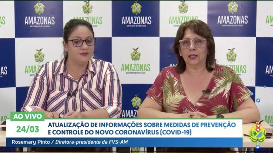 Com mais 15 casos confirmados, sobe para 47 infectados por coronavírus no AM