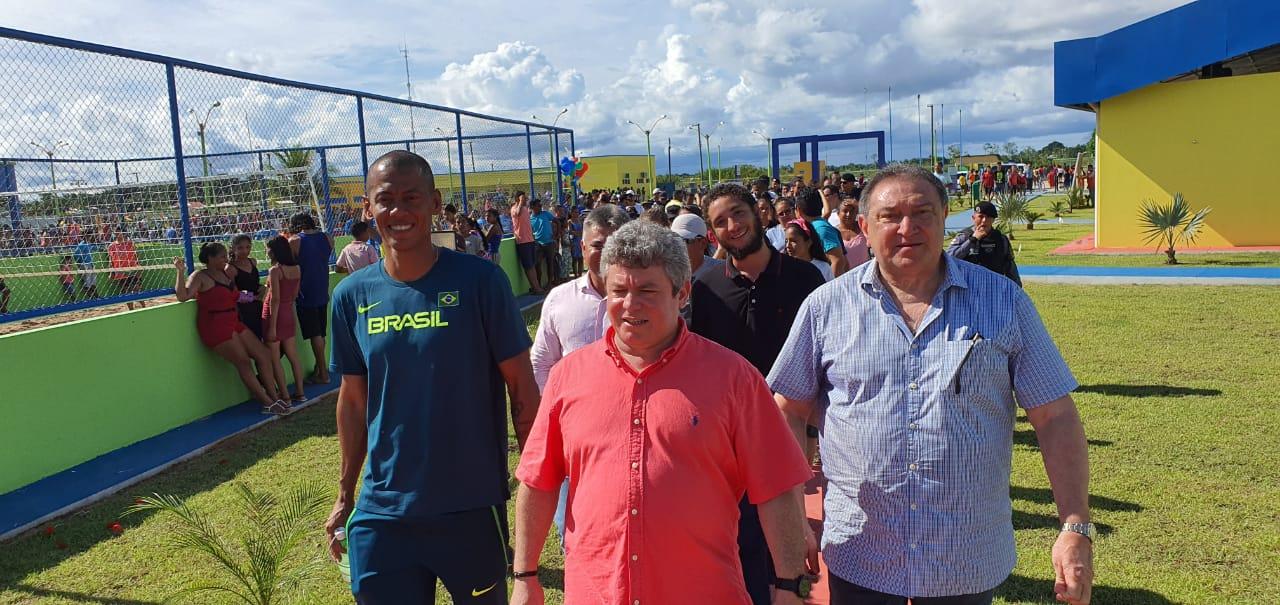 Deputado realiza sonho ao inaugurar Vila Olímpica de Lábrea