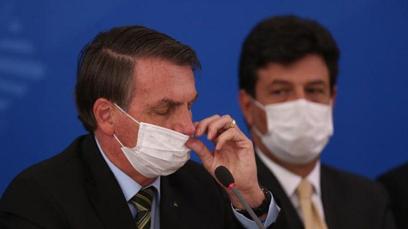 Mandetta deixou o cargo por não concordar com ideias de Bolsonaro