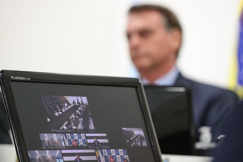 STF recebe nova notícia-crime da oposição contra conduta de Bolsonaro