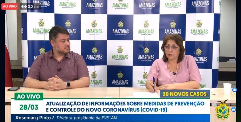 Amazonas é declarado em situação de transmissão comunitária do vírus