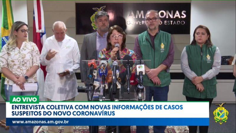 Moradora de Manaus é primeiro caso de coronavírus no Amazonas