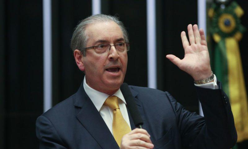 Cunha deixa prisão para passar por cirurgia de hemorroidas