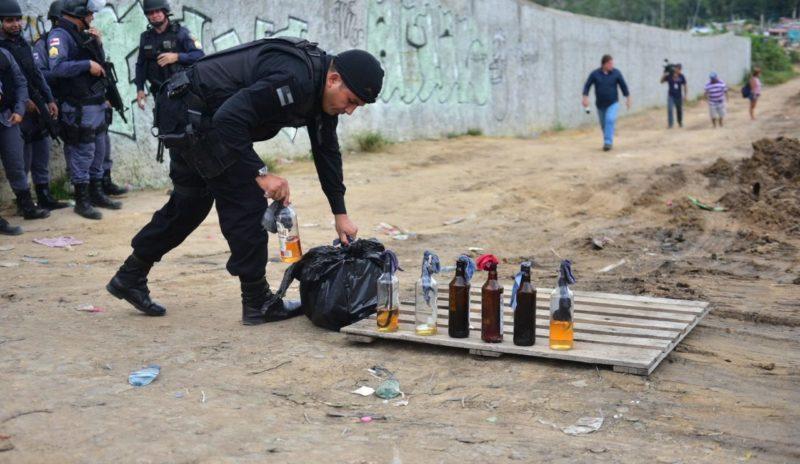 Identificados traficantes que usaram bombas em protesto no Viver Melhor