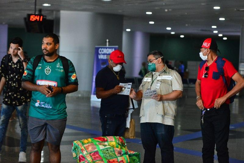 FVS-AM passa a monitorar remotamente quem desembarca em Manaus