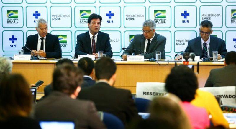 Saúde anuncia R$ 432 milhões para enfrentar coronavírus nos estados