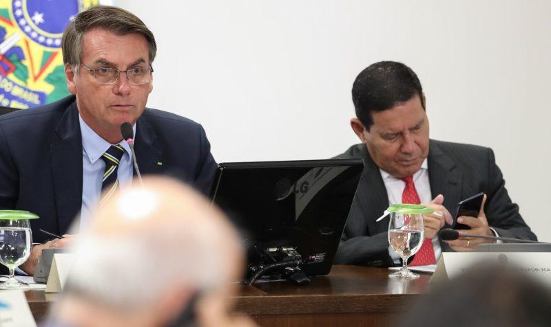 Como Mourão avalia fala de Bolsonaro aos governadores? Vídeo mostra