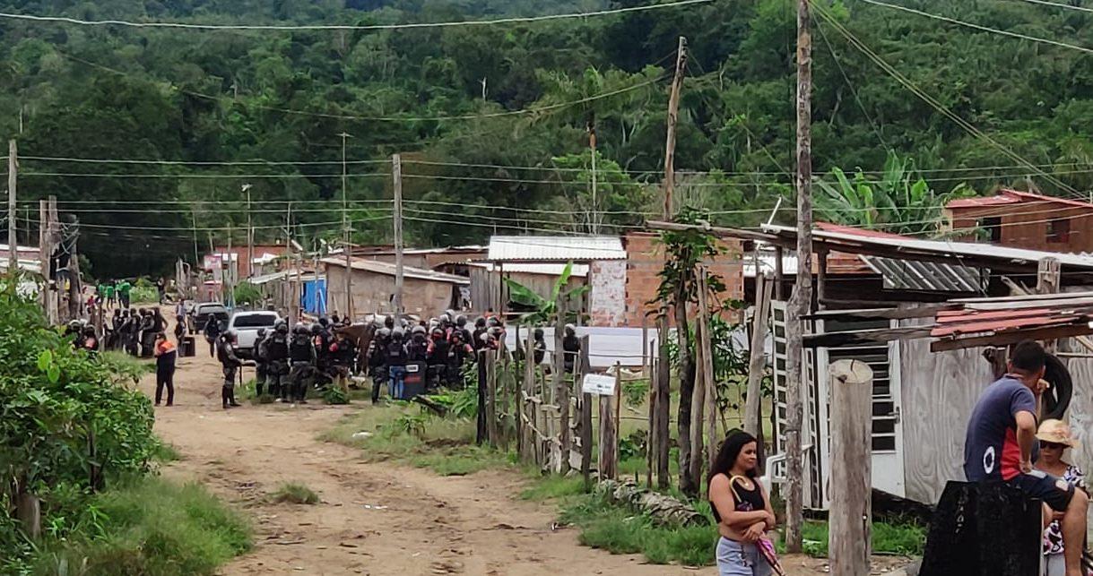 Policiais militares são investigados por série de crimes no Monte Horebe