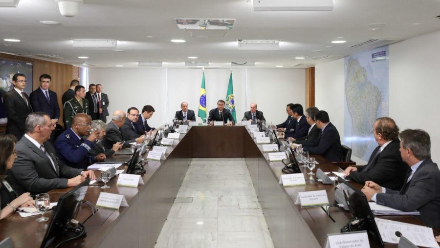 Governadores cobram ações de Bolsonaro para combater o coronavírus