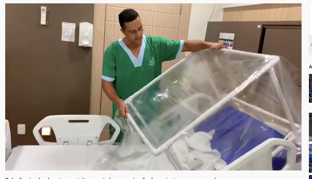 Samel apresenta solução simples que ajuda na respiração de pacientes com coronavírus