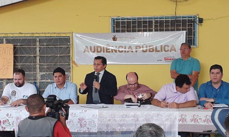 Sinésio anuncia inclusão da Vila Amazônia na comissão de regulamentação fundiária