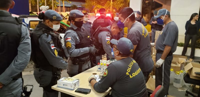 Policiais Militares recebem equipamentos de proteção individual