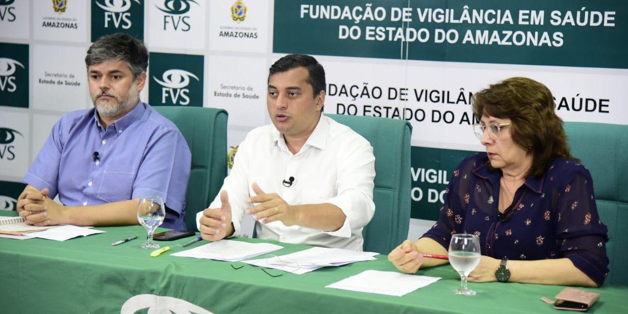 Wilson Lima suspende transporte fluvial e aulas em todo o estado