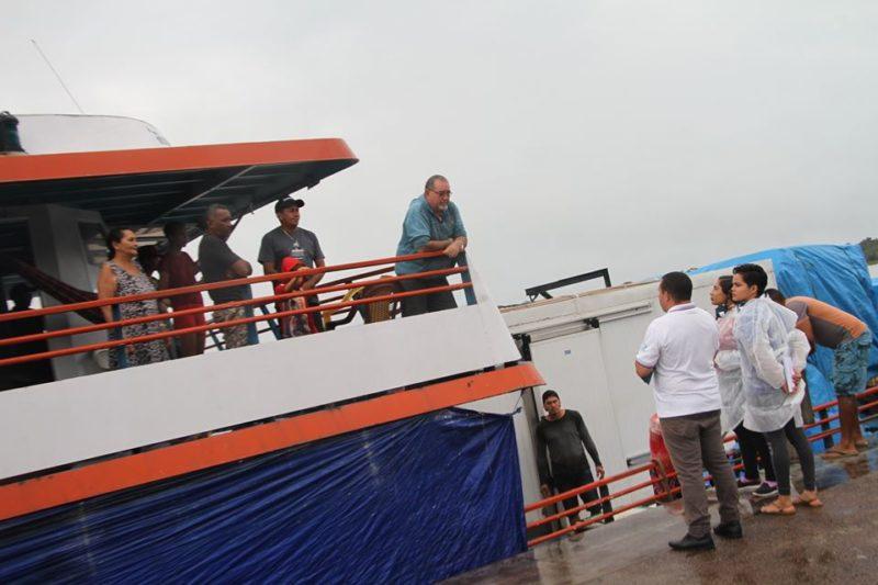 Em lancha de Carauari com 42 passageiros, 30 acusaram coronavírus