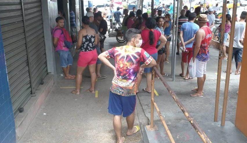 Mais de 12 mil denúncias de aglomeração foram feitas em Manaus
