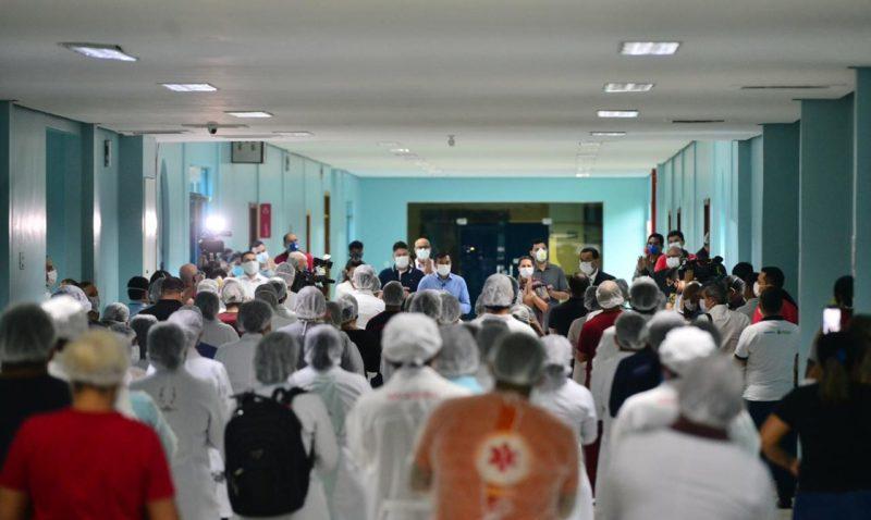 Governador inaugura hospital da Nilton Lins com 16 leitos de UTI