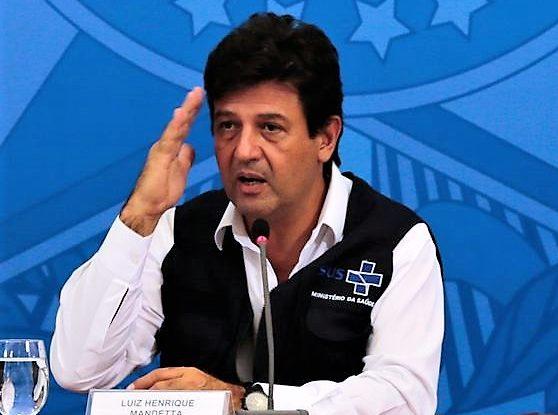 AM lidera no país em coronavírus e troca de secretário preocupa Mandetta