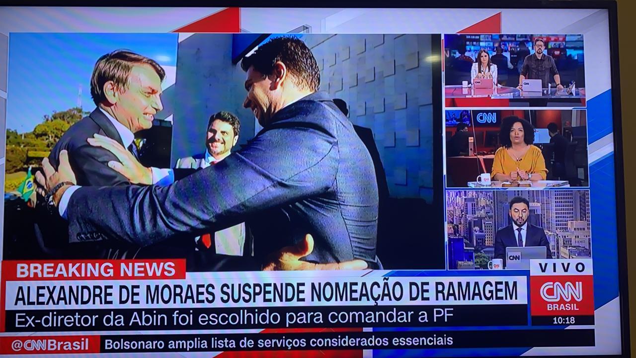 STF IMPEDE BOLSONARO DE NOMEAR DIRETOR DA POLÍCIA FEDERAL