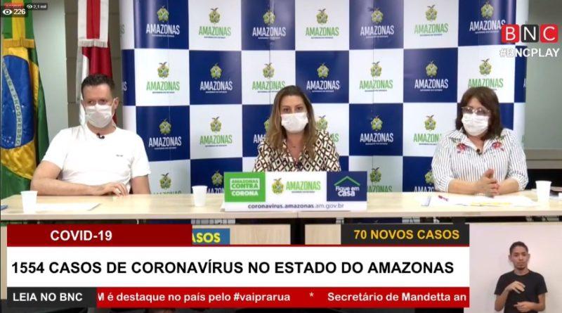 Manacapuru dobra mortos do coronavírus em 24 horas. AM vai a 106