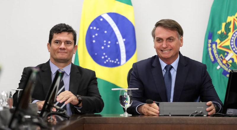 Governo Bolsonaro entrega ao STF vídeo de reunião com Moro