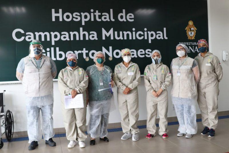 FVS faz inspeção e aprova trabalho do hospital de campanha Manaus