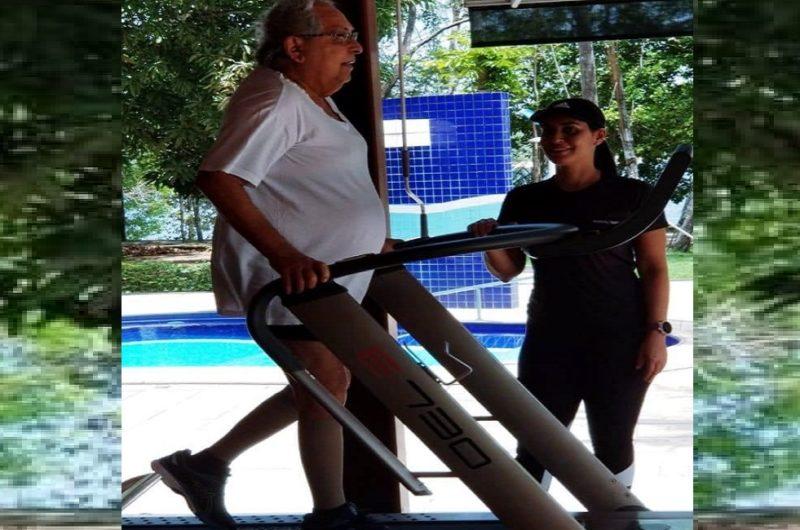 Amazonino fala em exames de rotina, faz dieta e exercícios e tranquiliza
