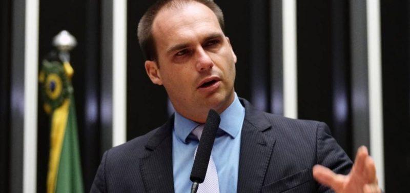 Partidos denunciam Eduardo Bolsonaro ao Conselho de Ética