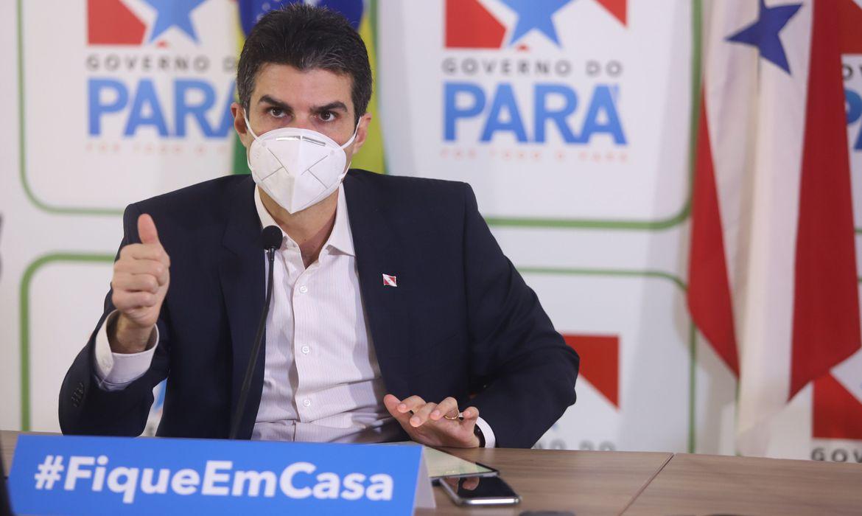 Governador do Pará é investigado pelo STJ pela compra de respiradores