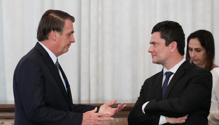 """""""Moro, tá decidido. Valeixo sai"""", disse Bolsonaro antes da reunião do vídeo"""
