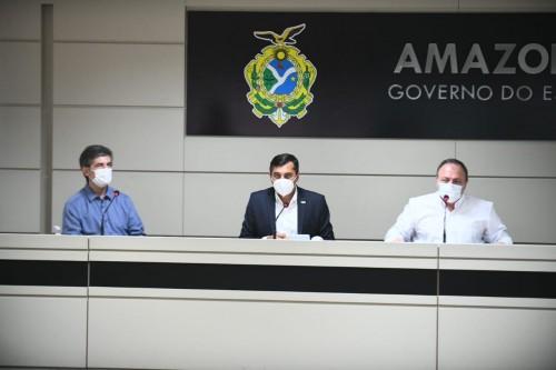 Teich afirma que Amazonas é prioridade e fala em união contra o coronavírus