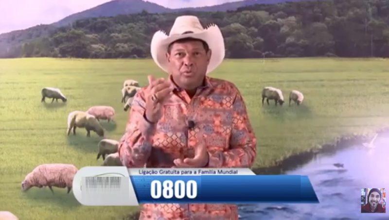 Depois da semente milagrosa, pastor agora vende colchão na TV