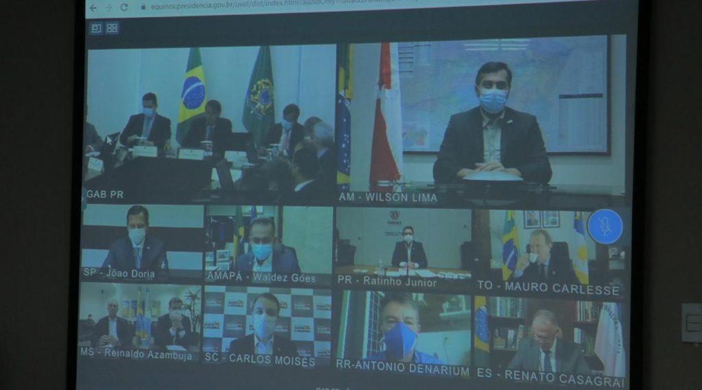 Estados e municípios Wilson reunião Bolsonaro
