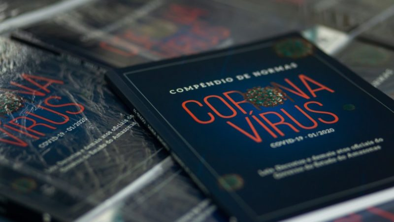 Coronavírus no AM vira compêndio para estudantes, pesquisadores e juristas