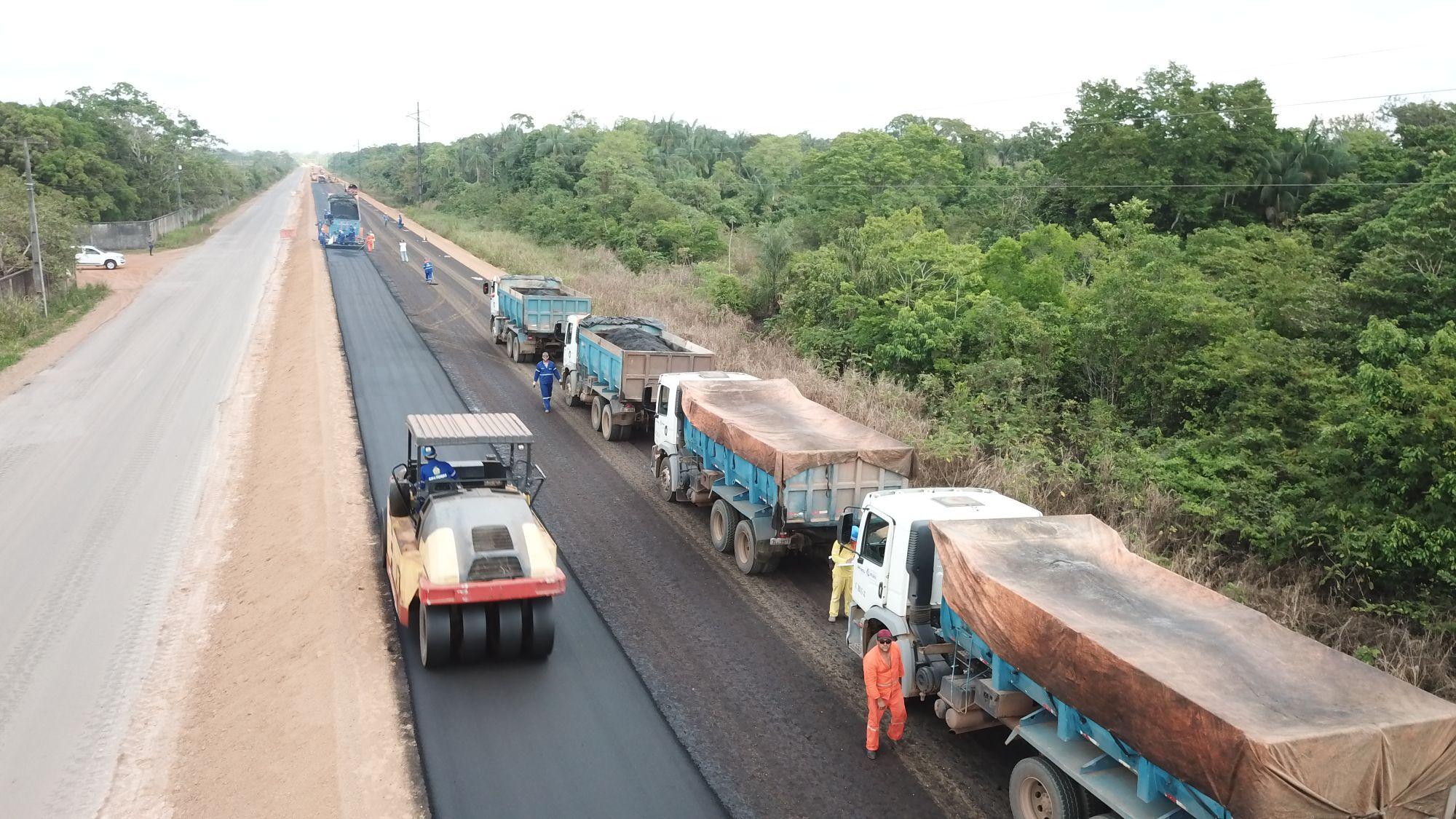 Governo lança licitação para obras em ramais da AM-70