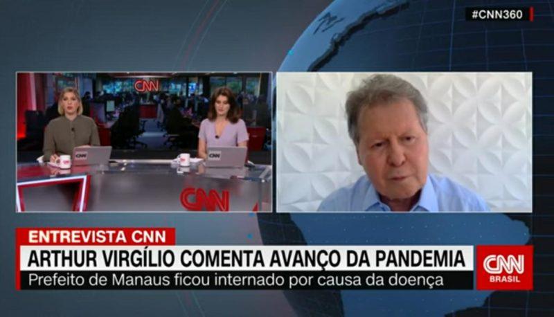Na CNN, Arthur compara Bolsonaro ao ex-presidente Delfim Moreira