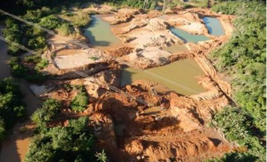 PF realiza operação de três dias contra garimpo ilegal na Amazônia