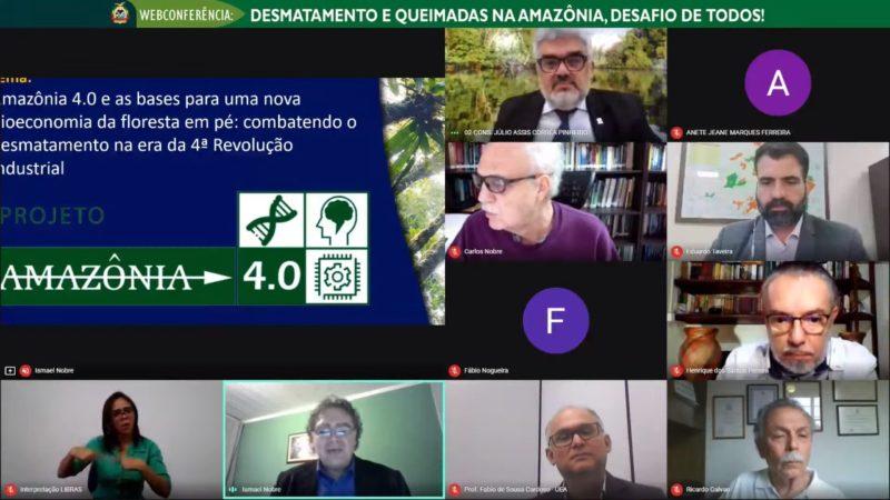 Crimes ambientais na Amazônia foram discutidos pelo TCE-AM